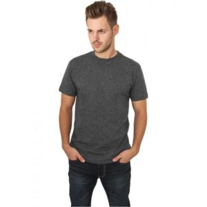 10697 300x300 - Urban Classics tričkoMelange Roundneck Tee Characoal - tmavošedá
