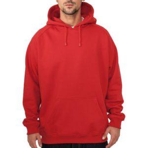 11025 300x300 - Urban Classics Blank Hoody Rd - červená