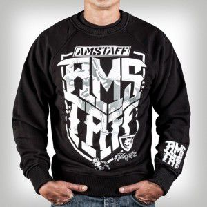 Amstaff Abaro Sweater Black – čierna
