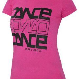 Urban Classics Dance T-shirt Fuchsia – ružová