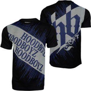 Hoodboyz Carpet T-shirt Navy White – tmavomodro – biela