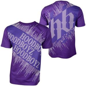 Hoodboyz Carpet T-shirt Purple Blue – fialovo-modrá