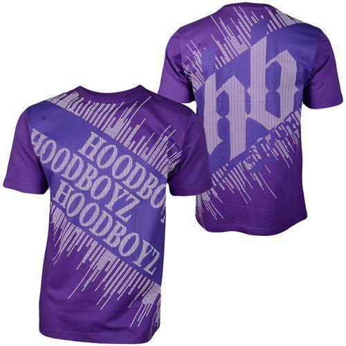 Hoodboyz Carpet T-shirt Purple Blue – fialovo-modrá