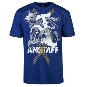 Amstaff Pčervenáeus T-Shirt – navy – modrá