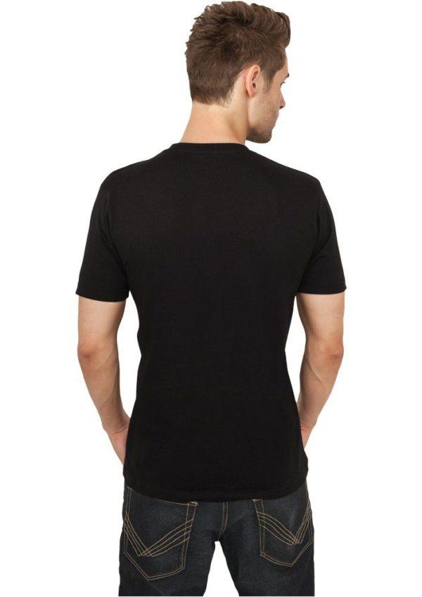 Urban Classics Basic V-Neck Tee Black – čierna