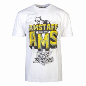 AMSTAFF HARSON T-SHIRT – WHITE – biela