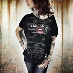 Yakuza dámske tričko Guerra Mundial GSB 7109 black - čierna