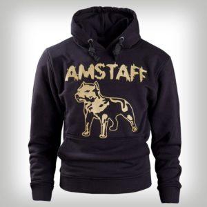 Amstaff Hoody Logo Blk Gold – čierno-zlatá