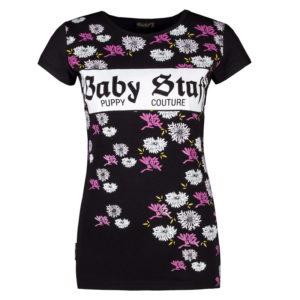 BABYSTAFF RYA T-SHIRT – BLACK – čierna