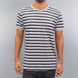 Cazzy Clang Super Stripes T-Shirt White-Black