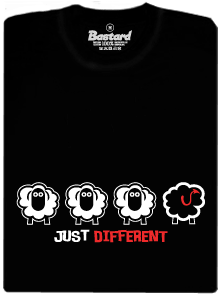 Čierna ovca pánske tričko