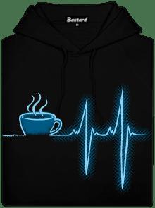 Coffee help pánska mikina