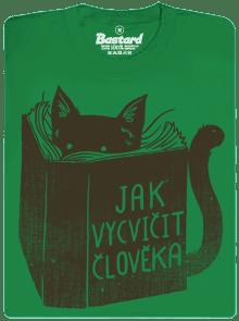 1392 - Povinná četba zelené pánske tričko