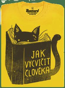 Povinná četba žlté pánske tričko