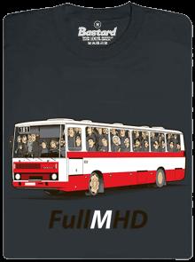 Full MHD šedé pánske tričko