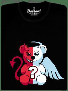Anjel vs. diabol pánske tričko