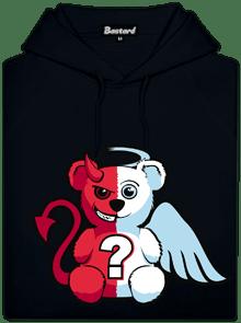 Anjel vs. diabol pánska mikina