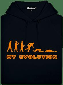 My Evolution pánska mikina