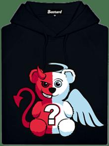 Anjel vs. diabol detská mikina