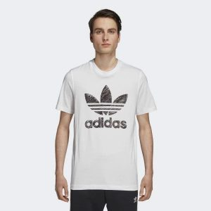 Adidas Hand Drawn T1 White – M