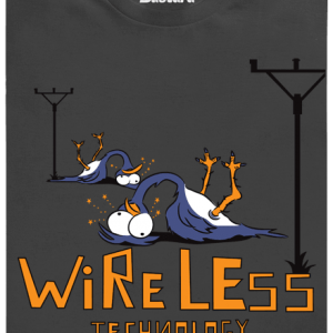Bastard Bezdrát modré pánske tričko – nový strih