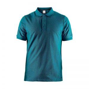 Tričko CRAFT Casual Polo Pique 1905800-336000 – modrá