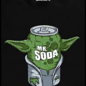 Bastard Mr. Soda pánske tričko – nový strih