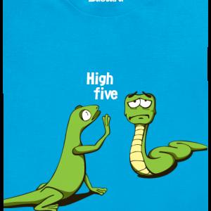 Bastard High Five detské tričko