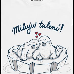 Bastard Miluju tulení detské tričko