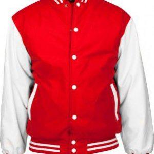 Urban Classics bunda – 8 / červeno-biela
