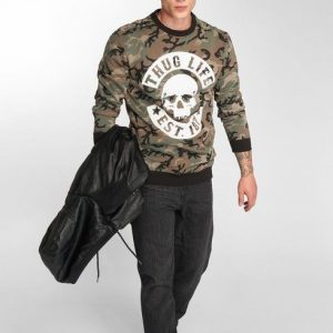 Thug Life / Jumper B.Camo in camouflage – M