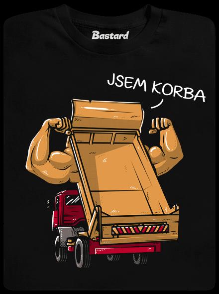 2489 - Bastard Korba čierne pánske tričko