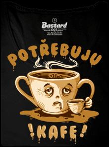Bastard Potřebuju kafe dámske tielko