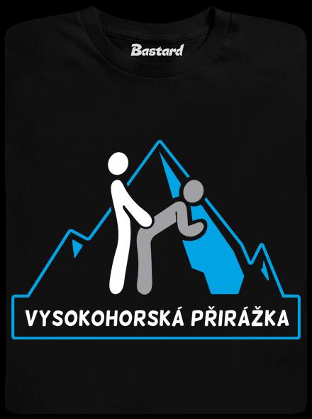 2584 - Bastard Vysokohorská přirážka pánske tričko