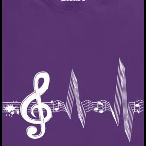 Bastard Žijem muzikou detské tričko