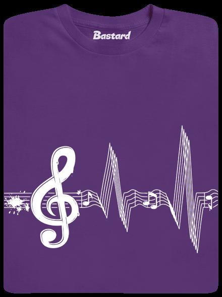 2603 - Bastard Žijem muzikou detské tričko