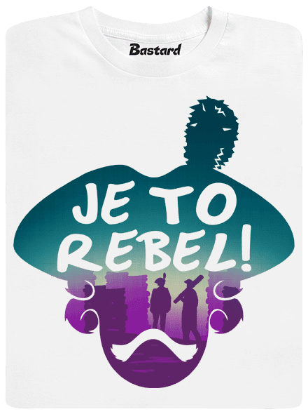 Je to rebel detské tričko