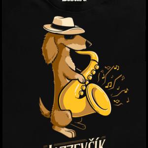 Jazzevčík detské tričko