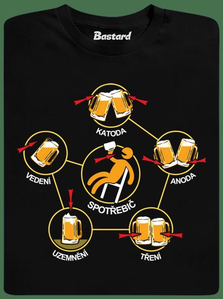 Pivní obvody pánske tričko