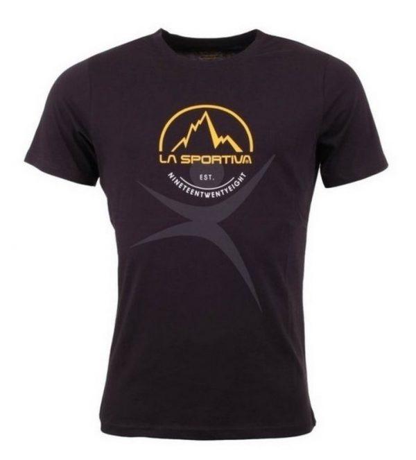 149033 A1 600x663 - Pánske tričko La Sportiva Logo Tee Black