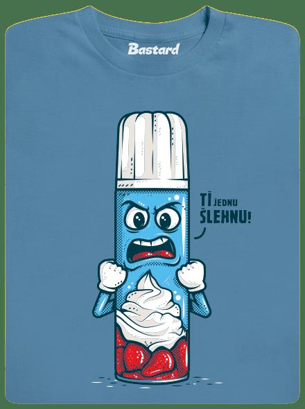 Ti šľahnem modré pánske tričko